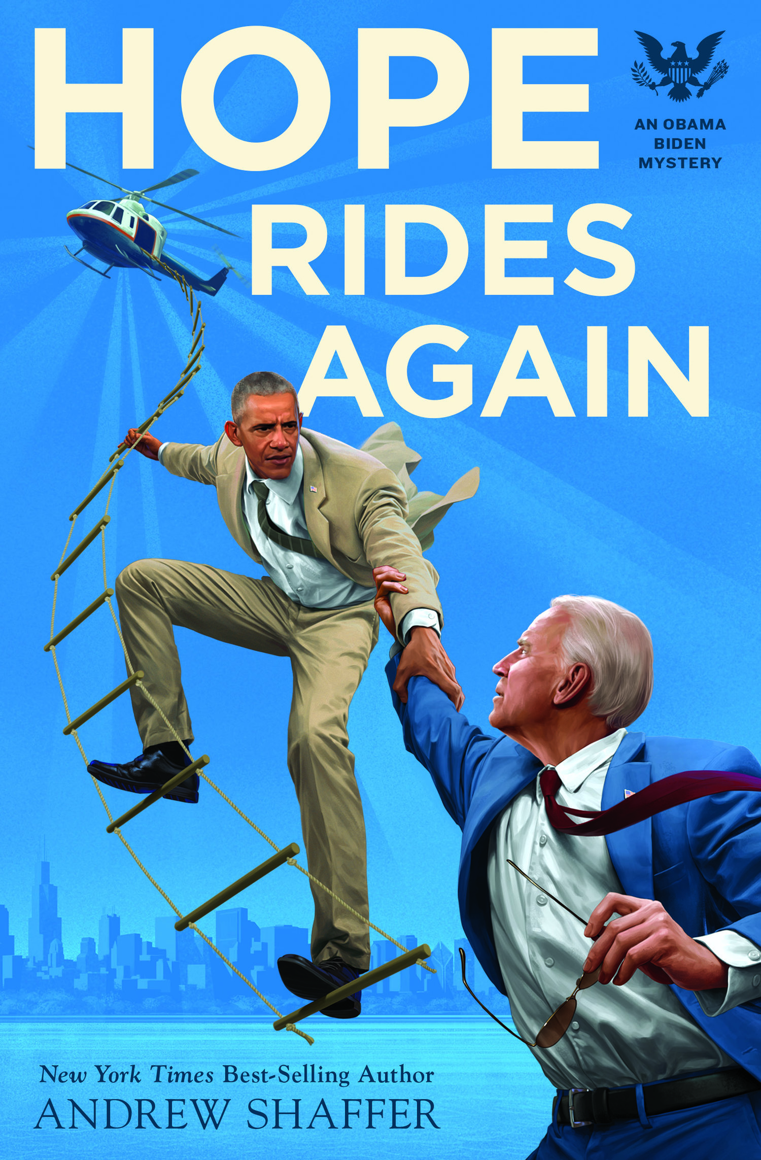 Image result for Andrew Shaffer | Hope Rides Again: An Obama Biden Mystery