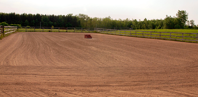 Our outdoor arena