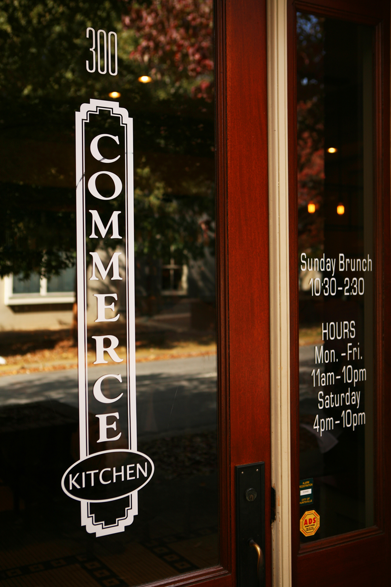 Location & Hours — Commerce Kitchen