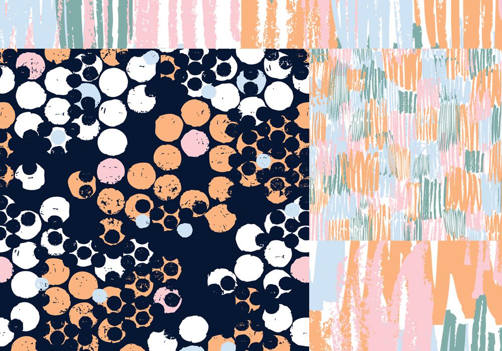 Abstract textures E Cox