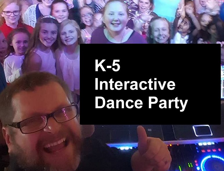 Our Highly interactive Dance program.  We take the kids through the decades with all the best interactive dances. We've even made up a few of our own.  This is great for a daytime reward or an evening with the parents too.   Learn More...