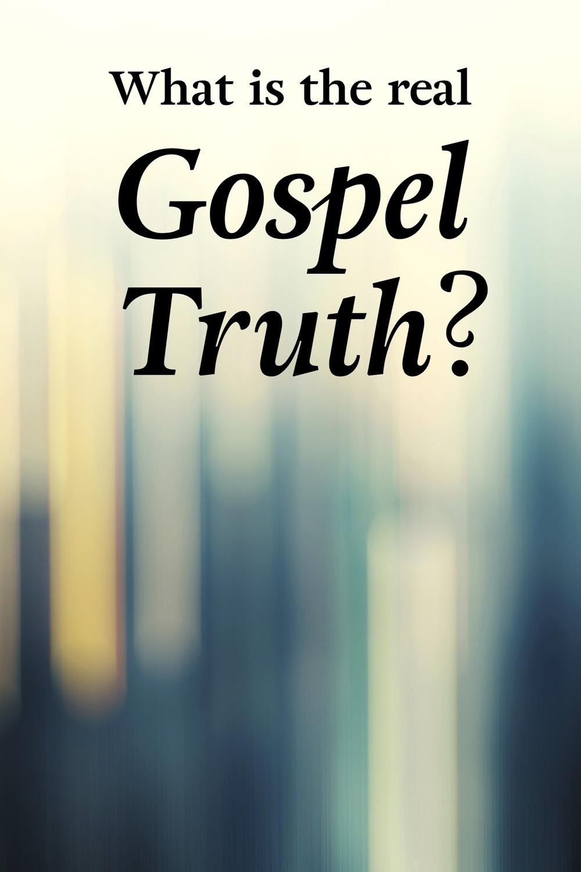 Of pdf gospel truth