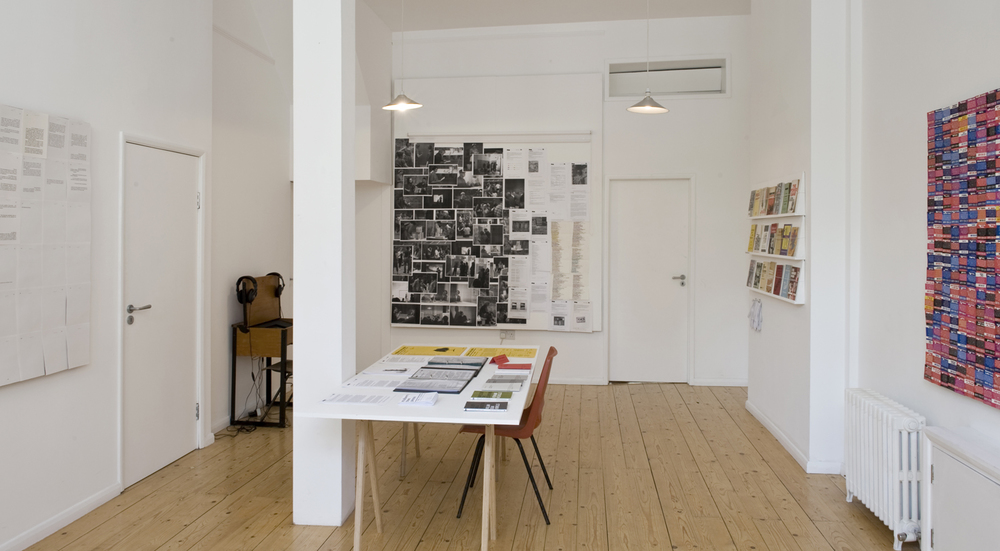 Installation view Part 2 Mulberry Tree Press