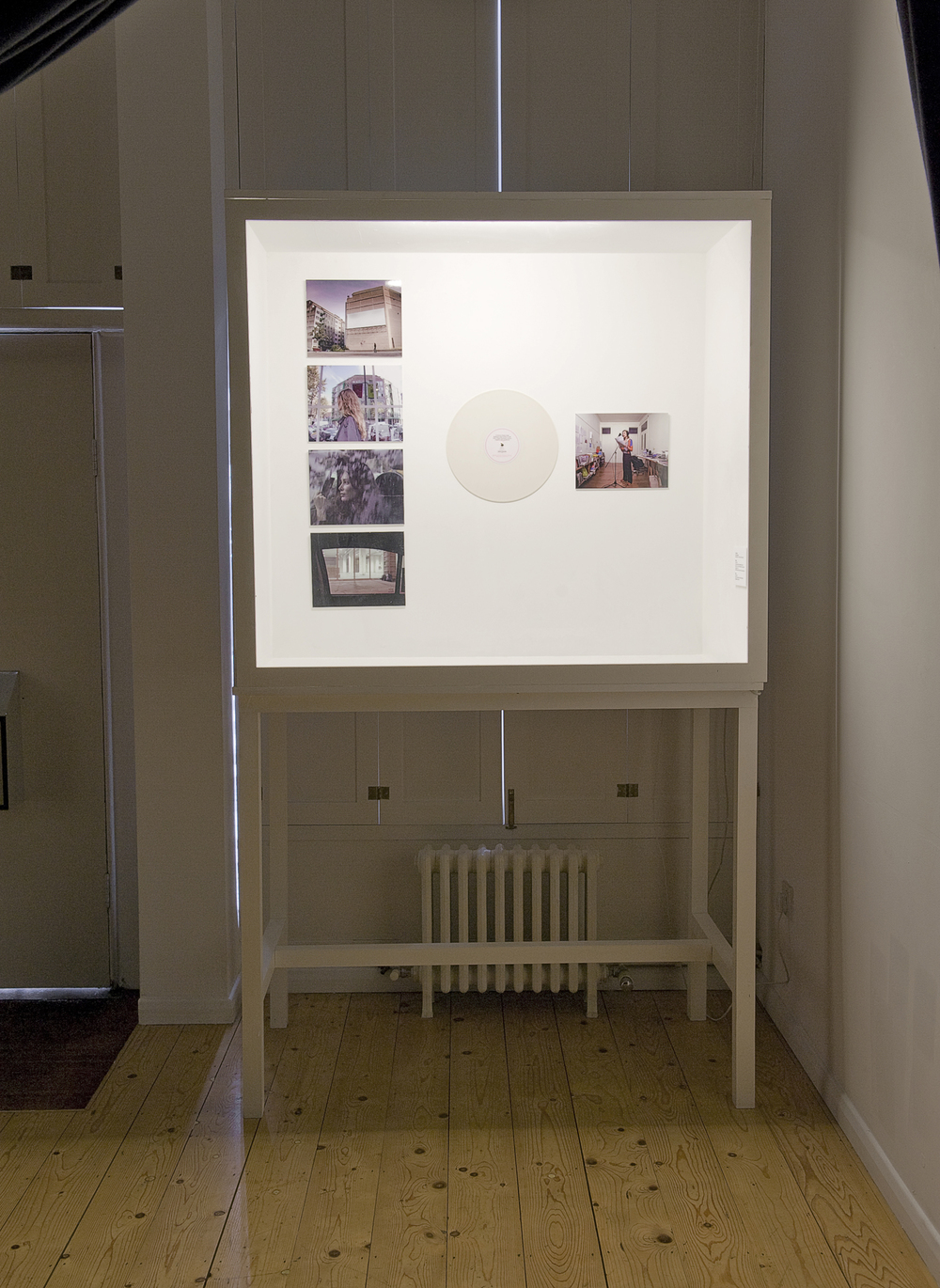 Cabinet 2 showing Joao Onofre and Stefan Bruggeman