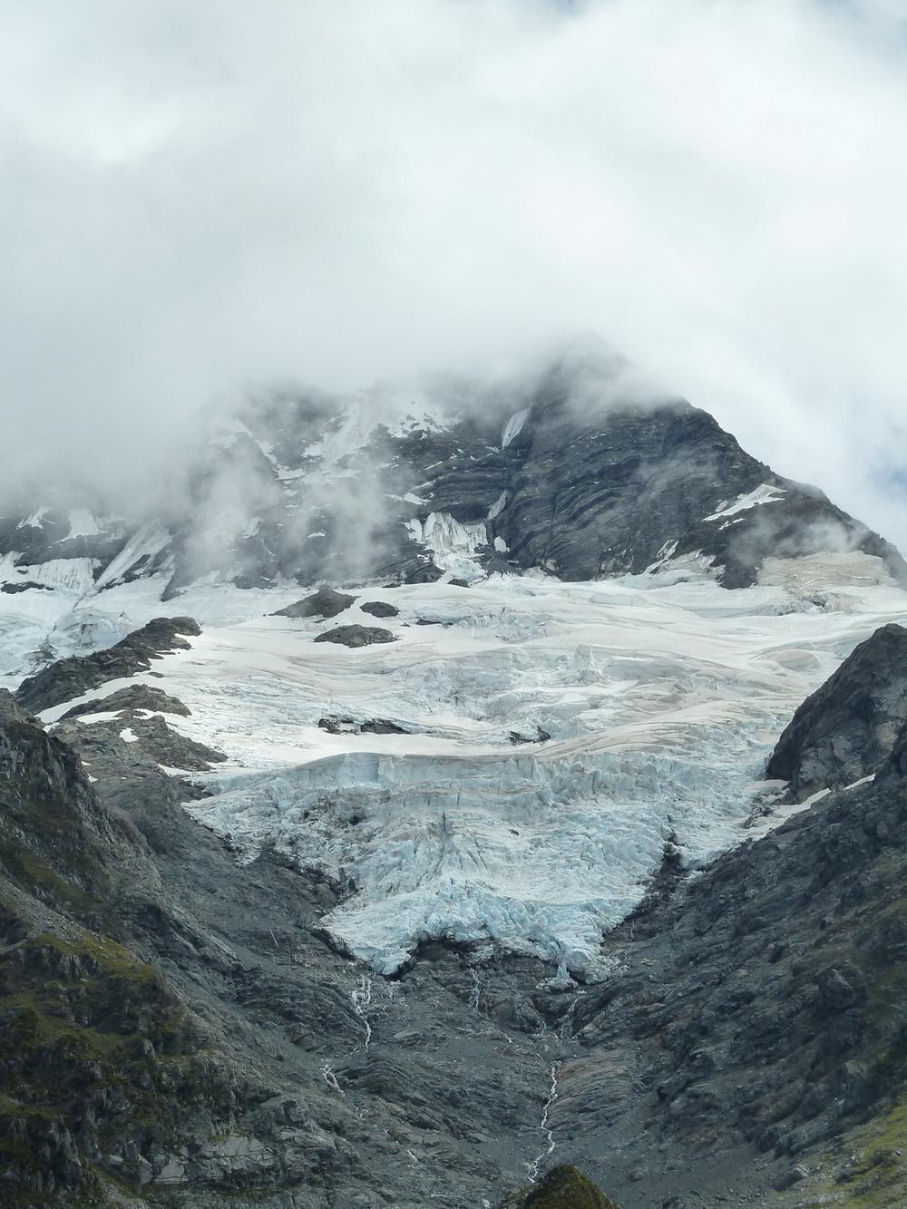 A Hanging Glacier