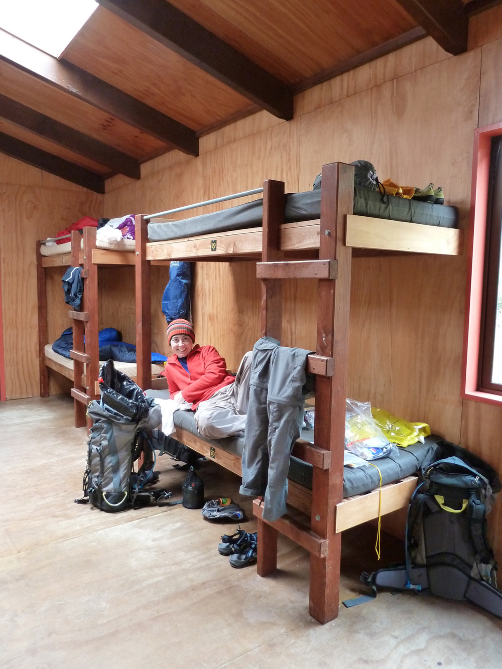 Bunks At Clinton Hut