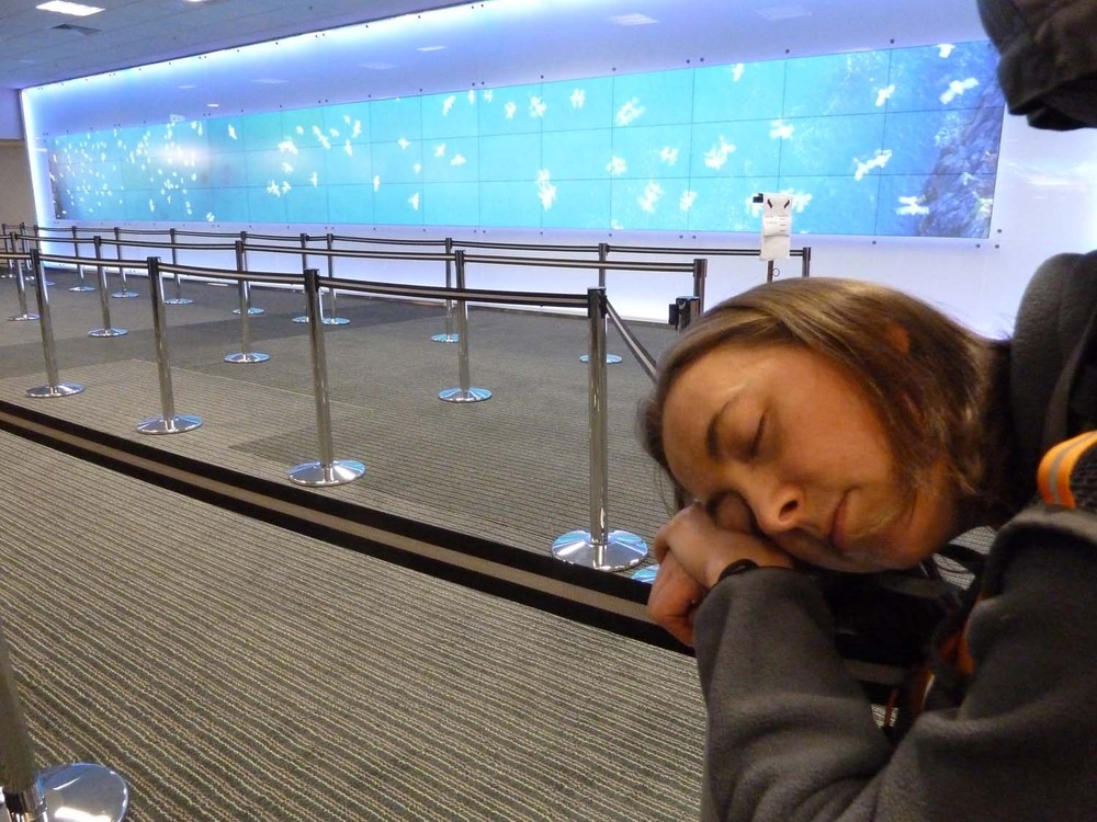 Can I Nap Through Customs?
