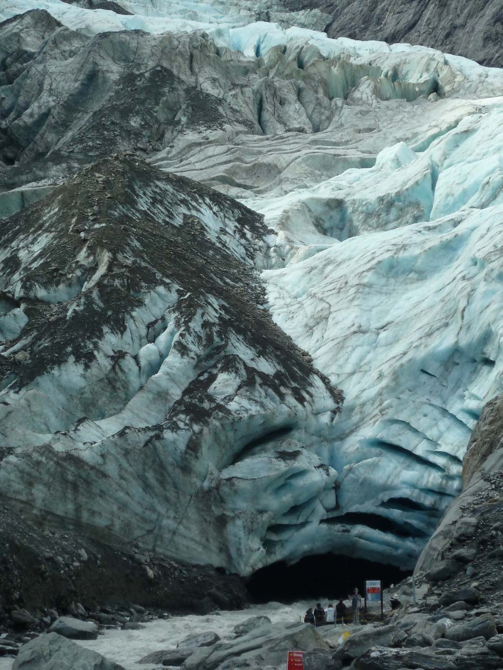 Base Of Franz Josef Glacier