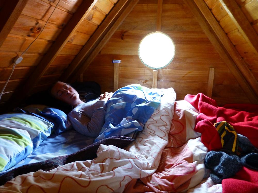 Sleeping The Sickness Away