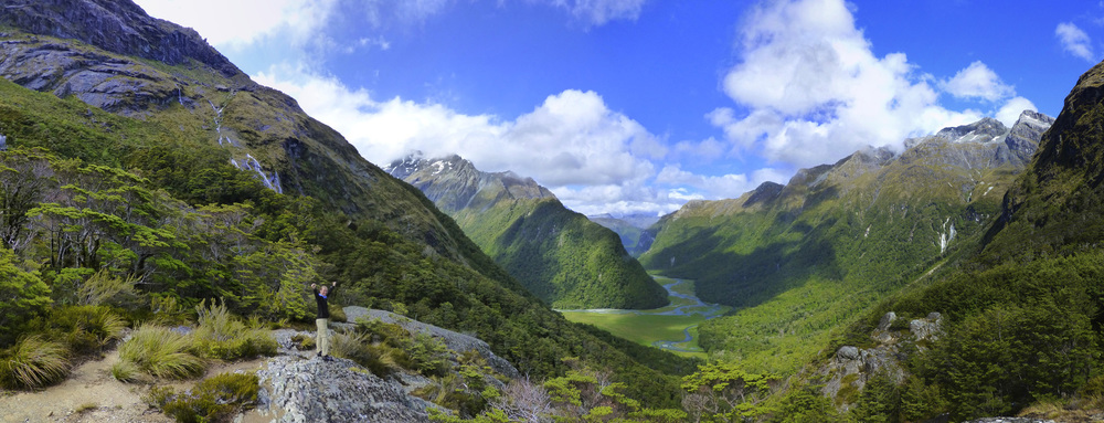 The View From Routeburn Falls Hut