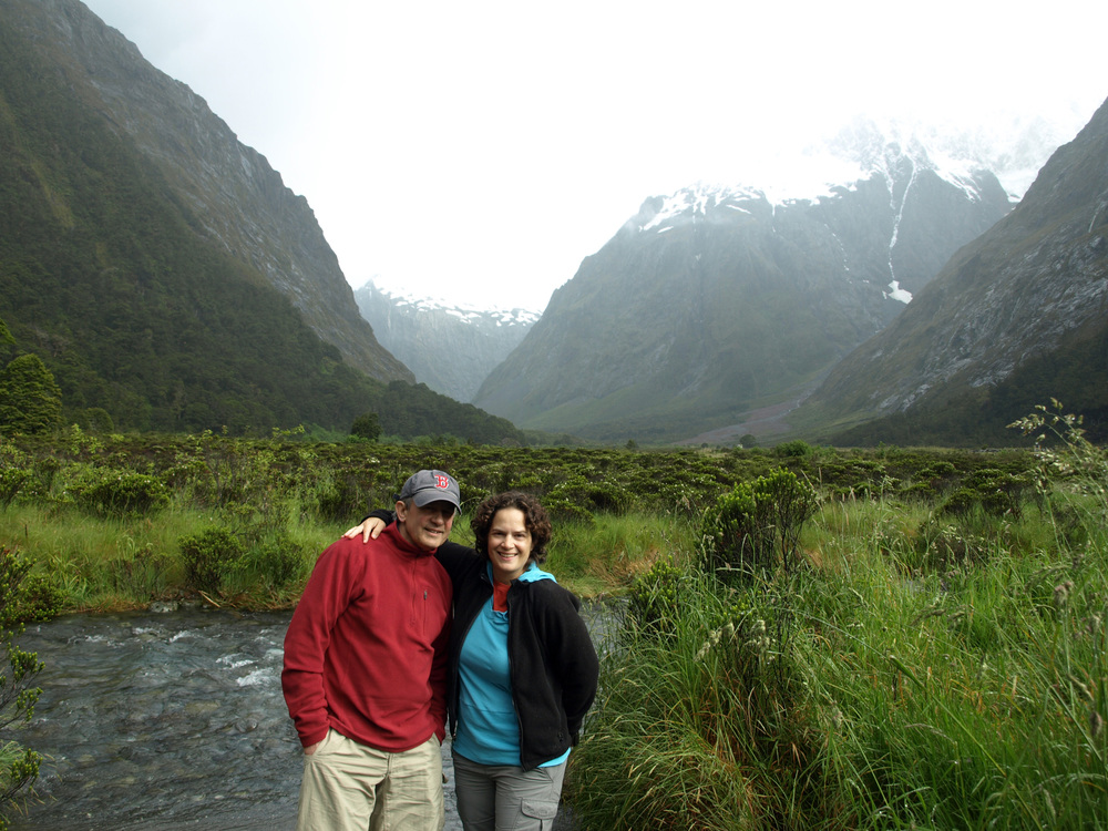 Entering The Fiordland