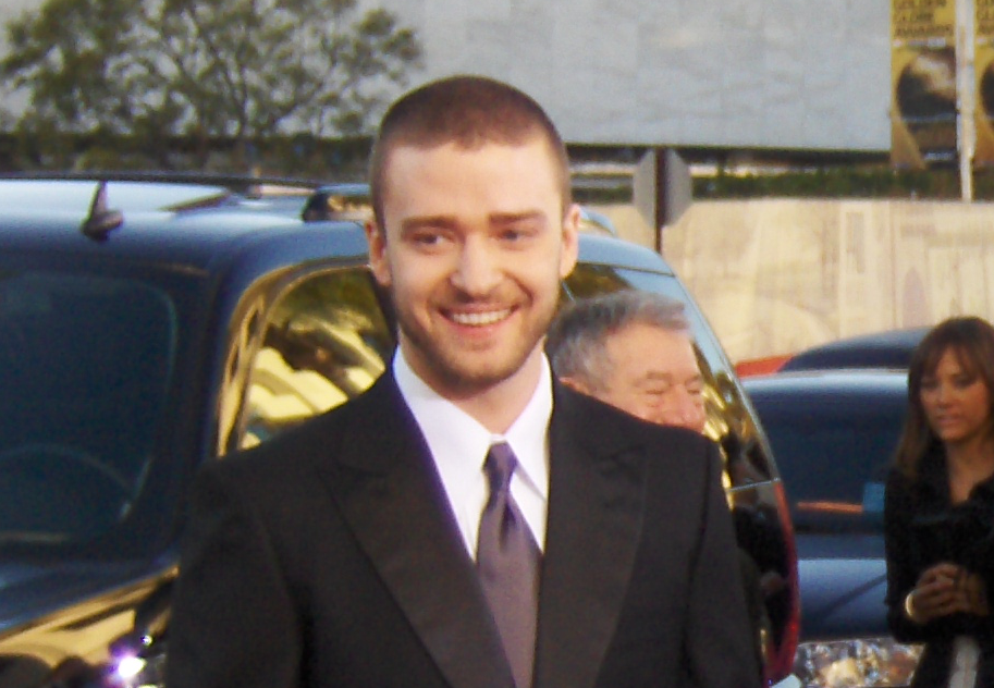 Timberlake smiling at the lack of spiders Pic by Joe Shlabotnik