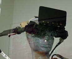 Lady Gaga's design for Google Glass was a little bit on the unwieldy side. Pic by Marshall Astor