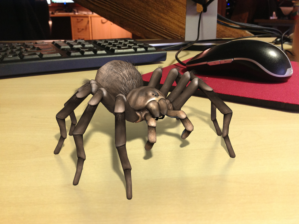 Augmented Reality Tarantula