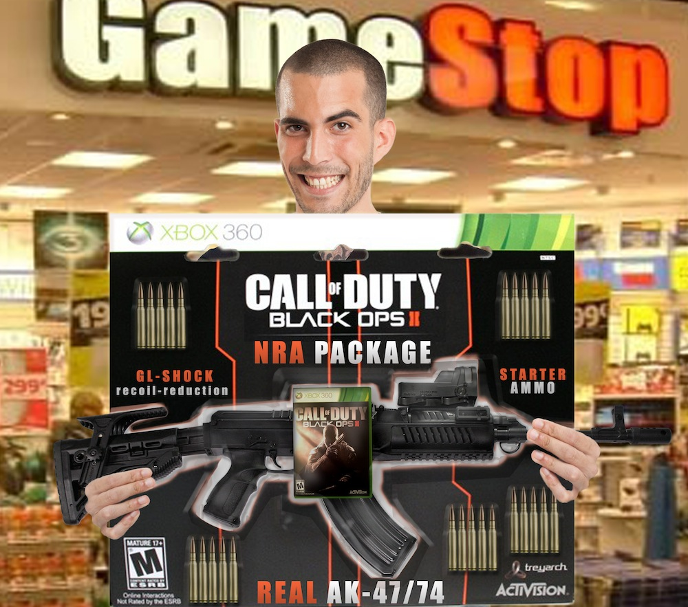 Pre-orders of Call of Duty Black Ops 2 received a free gun.