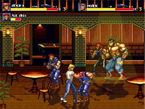 Streets of Rage a couch co-op classic