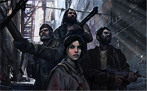 Left4Dead features co-operative online play