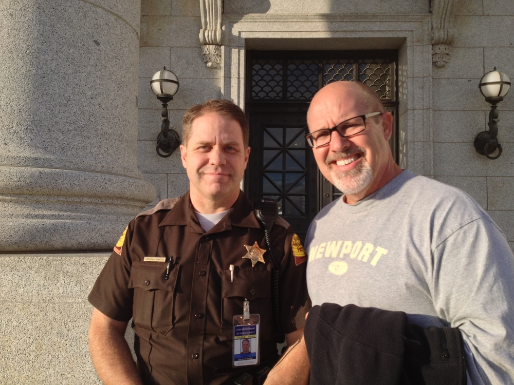 We were given a private tour of the whole place (which was already locked up, but not for us) by Officer Shawn of the Utah Capitol Police. We had a very warm and engaging talk about theology. Shawn was (and still is...so far) a Mormon.