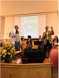 Ministering with Roberto Miranda