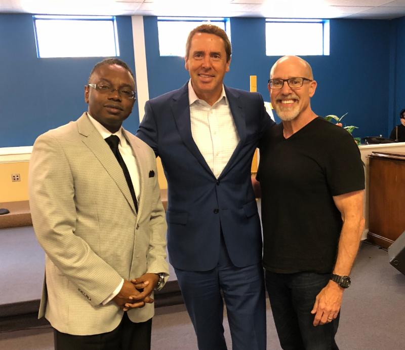 One of 435 Districts: With Pastor Reggie Holiday & Congressman Mark Walker