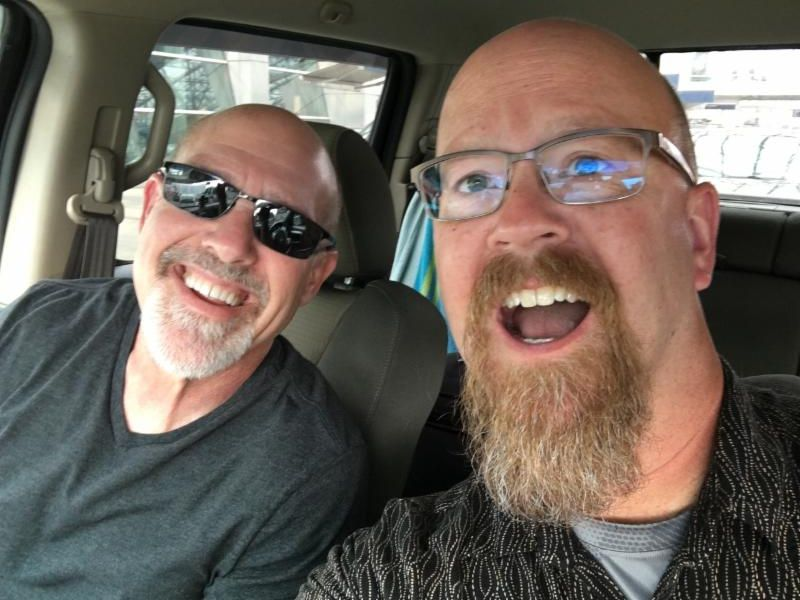 Screaming through Oregon in 24 hours with my buddy, Pastor Steve Mann