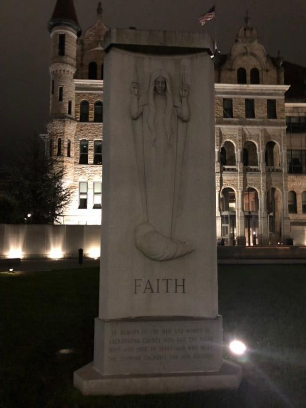 I had the added joy of dozens of wee-hours prayerwalks, often in cities I'd never been to before.   This was one of those...a particularly sweet nightwatch in Scranton, PA.