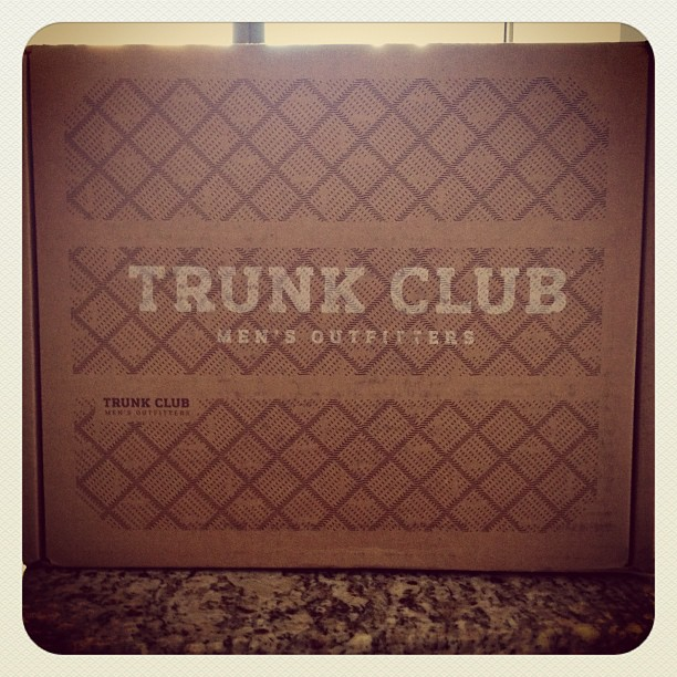 Thanks @DavidJRodriguez for turning me onto @TrunkClub! (Taken with instagram)