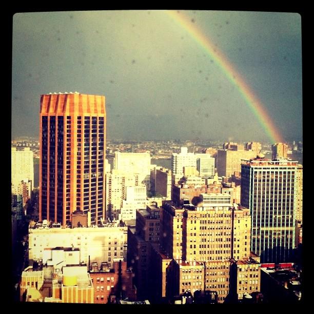 Rainbow! (Taken with instagram)