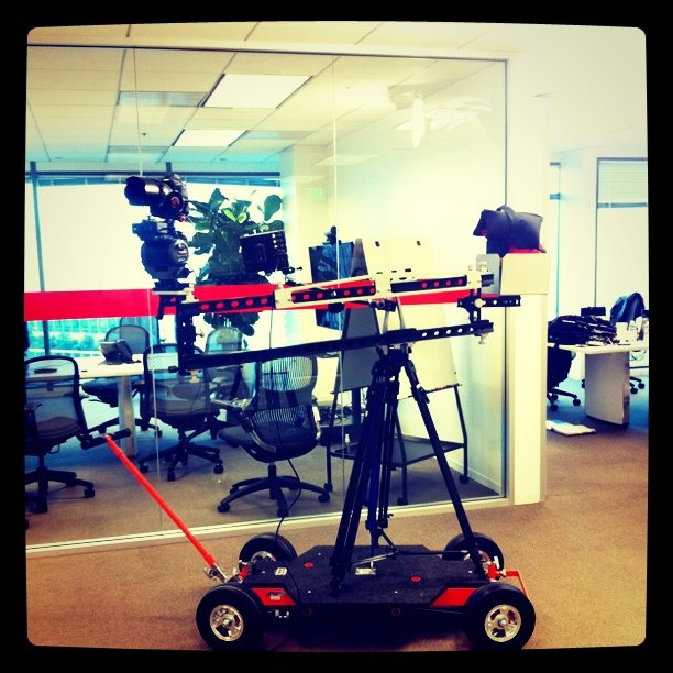 It's either a stedicam or an Autobot (Taken with instagram)