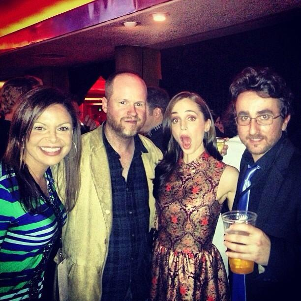 Daniela, Joss, Eliza and Yuri at the Streamys