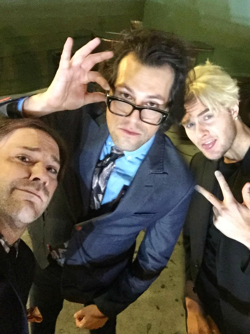 Wilson Cleveland, Drew Baldwin and Bart Baker at 2015 Trevor Live