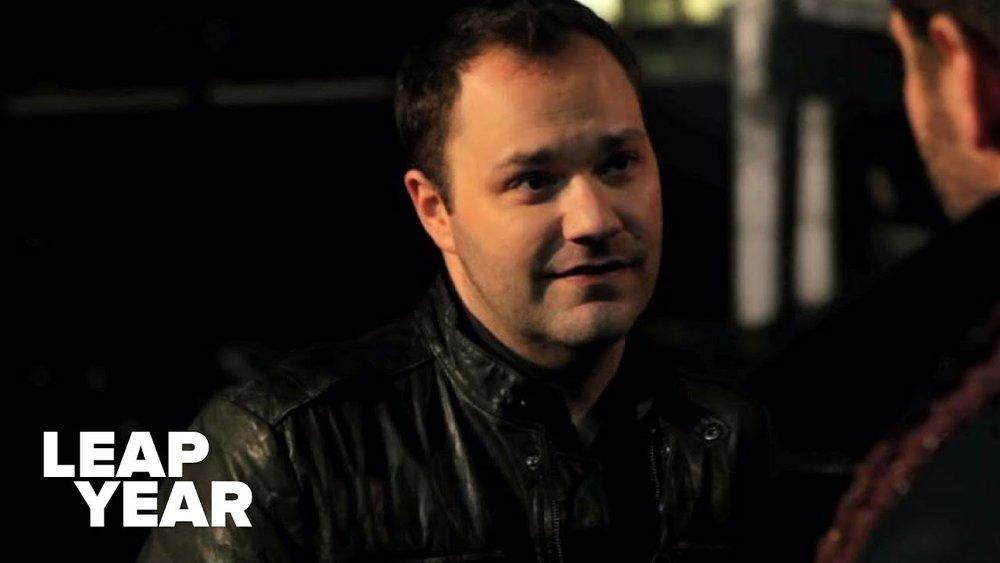 Derek (Wilson Cleveland) listens to Jack's plan to save their startups.