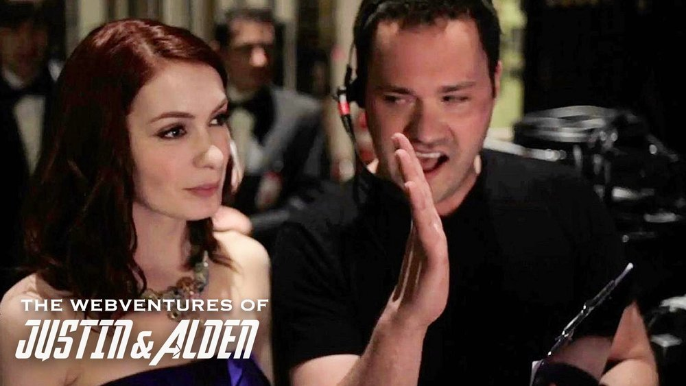 Wilson Cleveland and Felicia Day