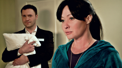 Wilson Cleveland and Shannen Doherty in Suite 7