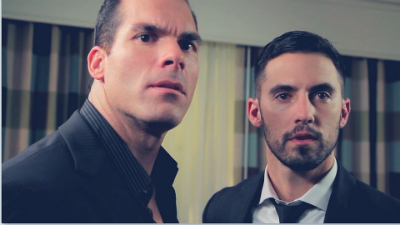 Brandon Molale and Milo Ventimiglia in Suite 7