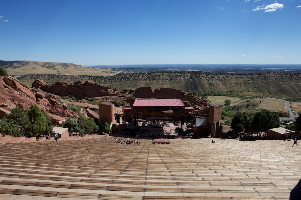 Morrison, CO  - Red Rocks Amphitheater
