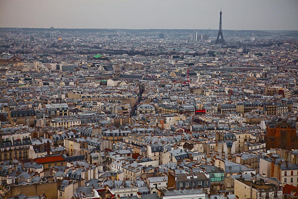 Atop of Sacré-Cœur - Paris, France