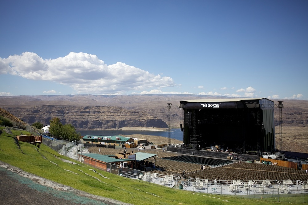 George, WA - The Gorge Amphitheater (Crowd View)