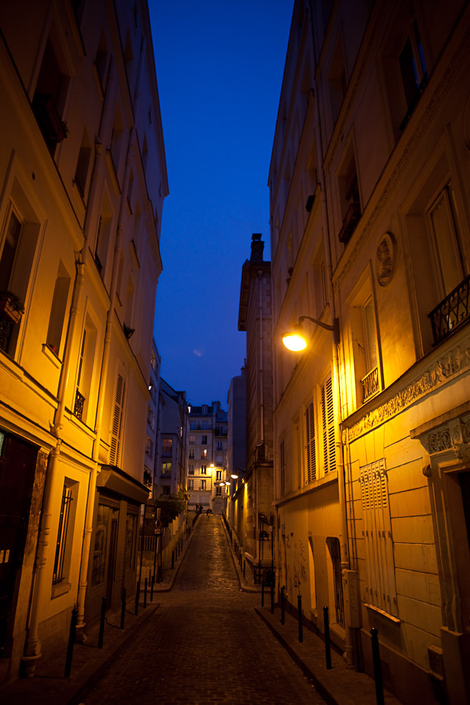 A Parisienne Road - Paris France