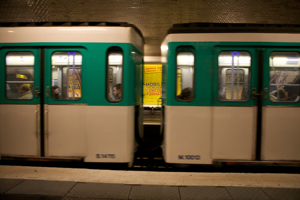 Trains in Paris