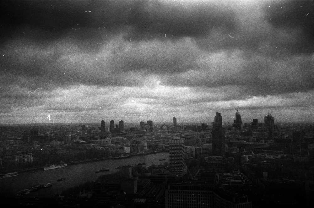 Grainy London from The Eye
