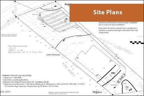 soil site plans