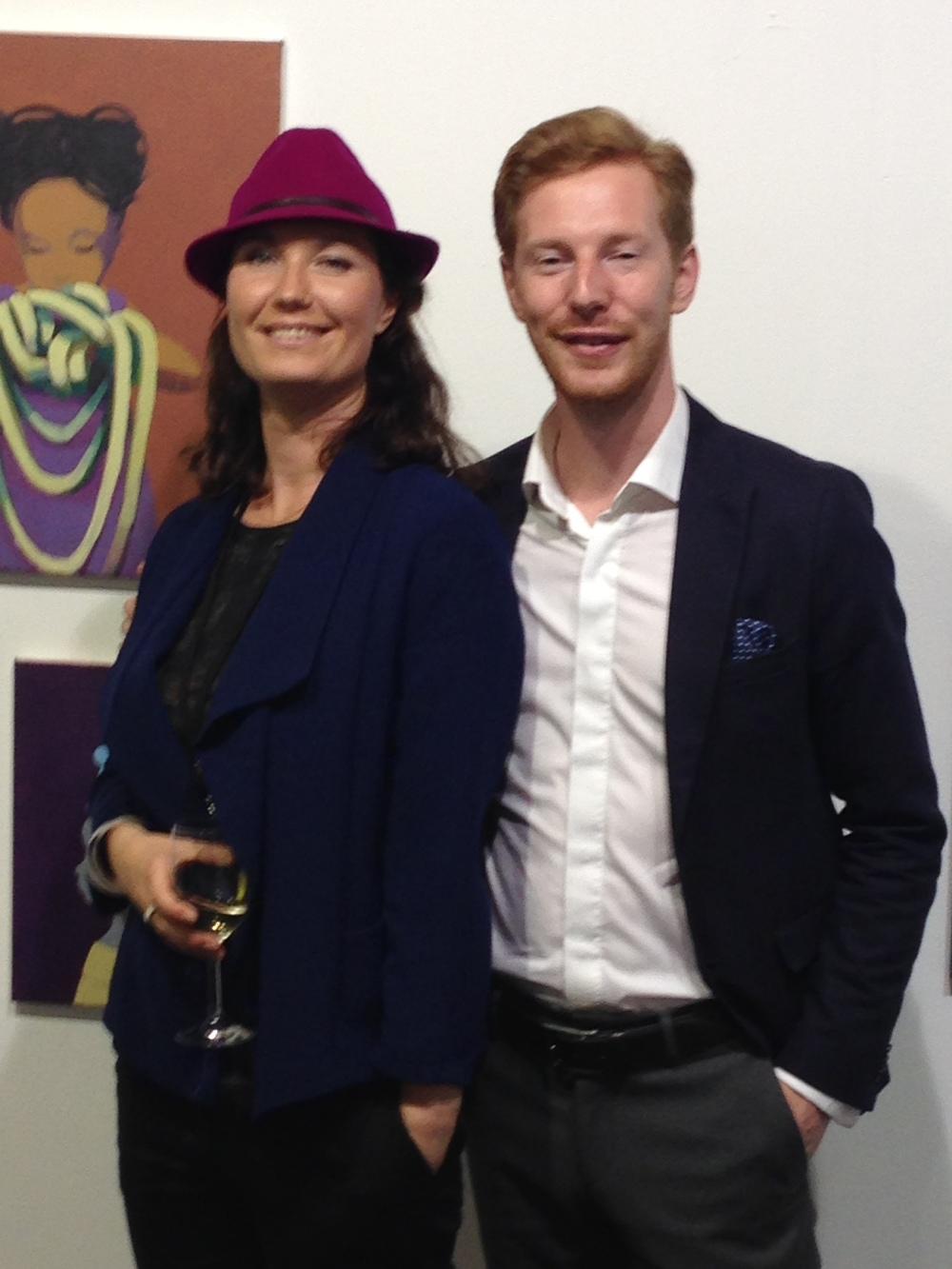 Robert Stelzer von PARNASS, dass östereichische Kunstmagazin àla ART oder Monopol