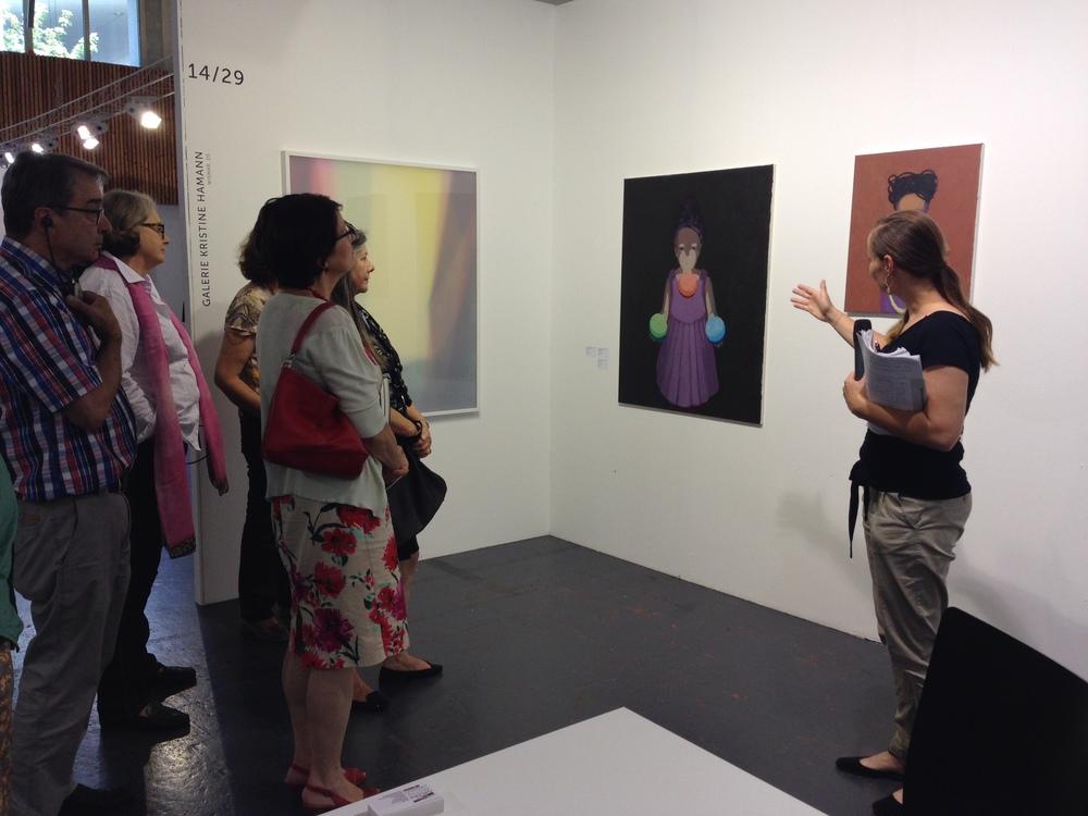 Tägliche Führungen mit Erläuterungen zuKunst und Künstler