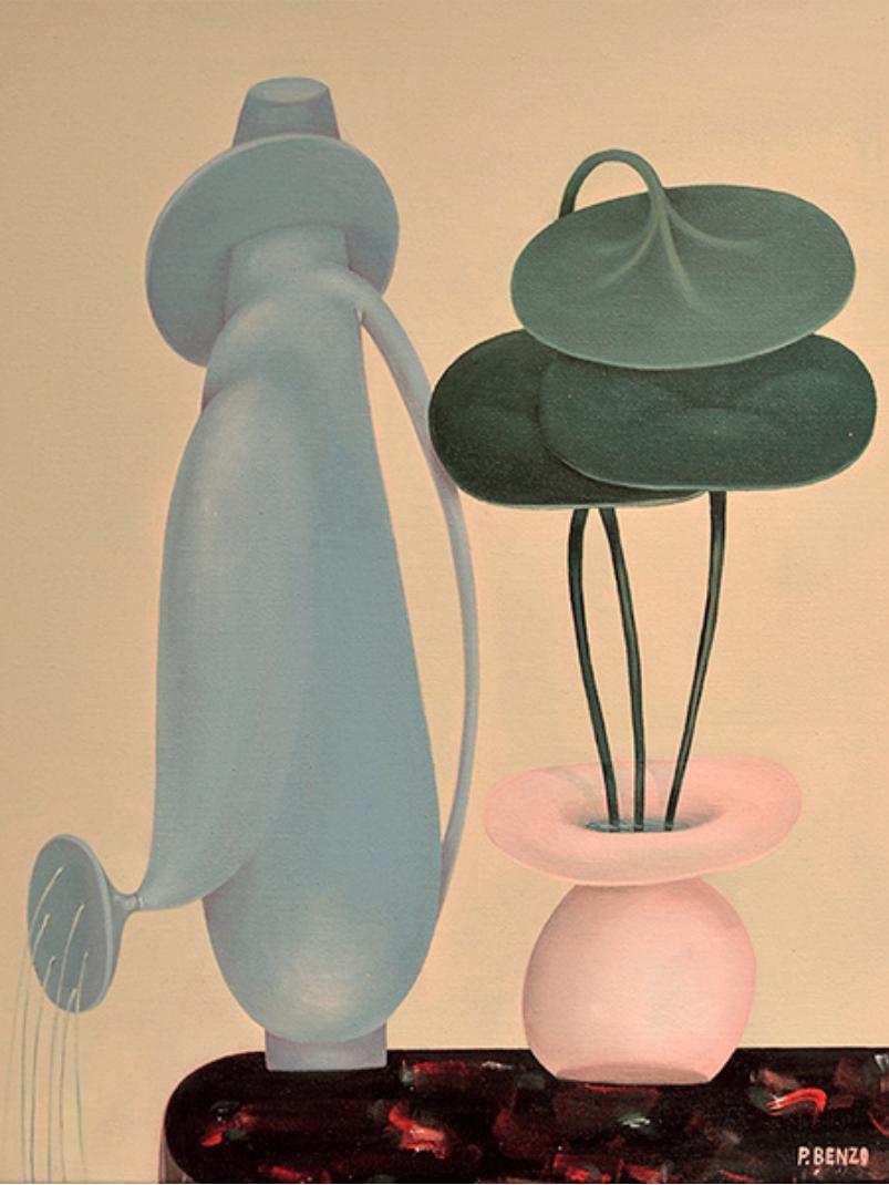 PABLO BENZO Öl auf Leinwand,,50 x 40 cm, 2015
