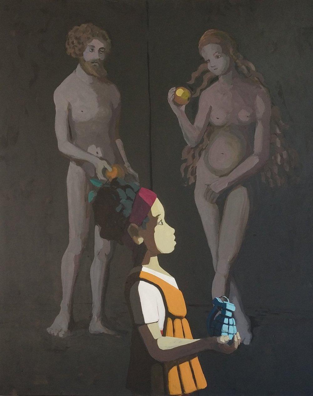 Acryl auf Leinwand 145 cm x 120 cm, 2018