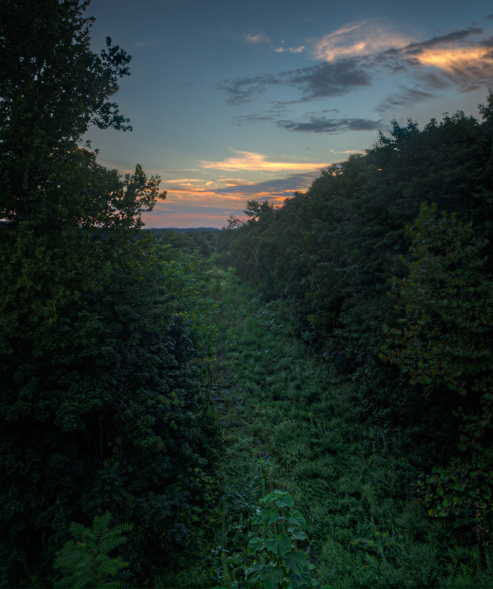 The Green Path to Sunset