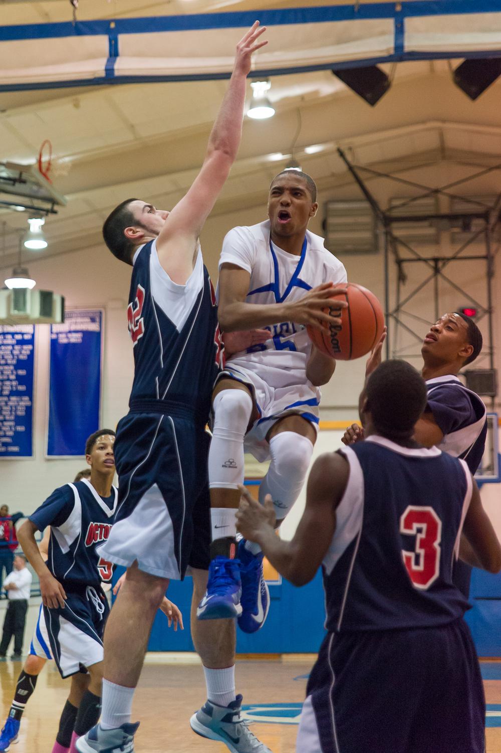 Great Valley Varsity Basketball vsOctorara