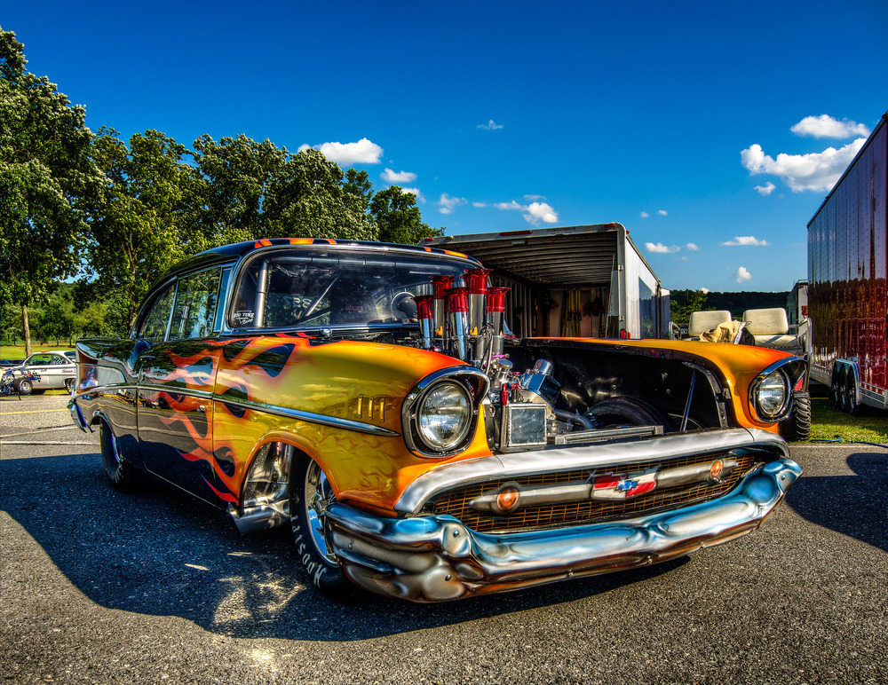 Maple Grove 50th anneversary car show