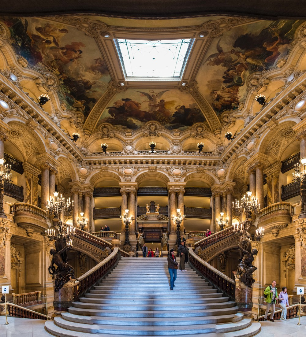 Grand Entrance to the Paris Opera House